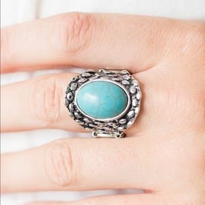 Jewelry - 🐬 Jungle Glam Blue Ring